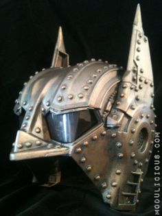 Steampunk Batman Helmet Mask Bronze Wearable Cosplay Life Size Dark knight, made by Kyoob