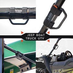 GP-grip handle UTV jeep boat truck roll bar Jeep Wrangler Tops, Jeep Wrangler Models, Jeep Jt, Jeep Truck, Cool Truck Accessories, Jeep Wrangler Accessories, Car Racks, Best Camping Gear, Adventure Gear