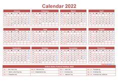Free Monthly Calendar, 12 Month Calendar, Holiday Calendar, Calendar 2018, Free Printable Calendar, Free Printables, Blank Calendar, List Of Us Holidays, Fillable Calendar
