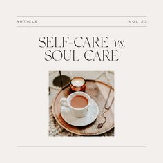 """""""I can feel God's greatness meeting me at my weakest and filling me up."""" This week on the blog, do we need self-care or soul care? 💛 Take a moment to yourself and give it a read! 👀"""