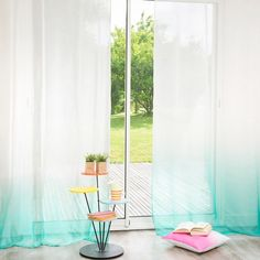 L'inspiration déco : les rideaux tie and dye - ELLE