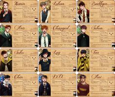 So according to this if EXO were in Hogwarts, Chanyeol would be in Slytherin. Which I don't mind cause he can 'Slytherin' my direction with his Twigger broom ;) A bit of cheeky muggle humour lol Kpop Exo, Exo K, Baekhyun, Hunhan, Exo Ot12, Tao, K Pop, Exo Fan Art, Kim Minseok
