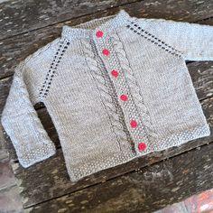 Ravelry: Vintage Cardigan pattern by Helen Rose Baby Cardigan Knitting Pattern Free, Kids Knitting Patterns, Baby Sweater Patterns, Crochet Doily Patterns, Kids Patterns, Cardigan Pattern, Knitting For Kids, Baby Knitting Patterns, Baby Sweaters