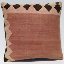 "TURKISH DECORATIVE PILLOWS  HANDWOVEN KILIM RUG 20""x20"""