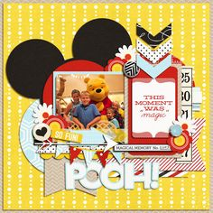 Pooh! - MouseScrappers - Disney Scrapbooking Gallery
