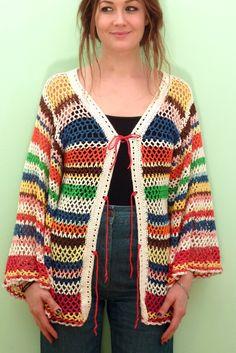 70s handmade sweater indiVintage.com