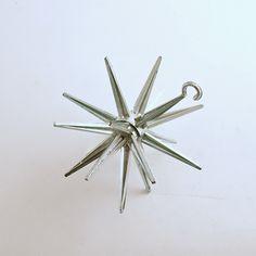 Vintage Christmas Ornament Sputnik Star Mid Century Eames Era by efinegifts on Etsy