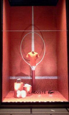 Lacoste - milano Rinascente - Orange