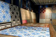 Cement tiles - Designtegels - Showroom Utrecht