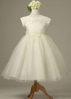 Ivory Gorgeous Flower Girl Dress $48.95