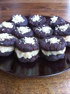 Organic, raw, vegan Oreo cookie recipe, made with almond pulp. -Awake and Living