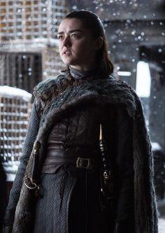 Game of Thrones :Arya Stark Game Of Thrones Episodes, Game Of Thrones Arya, Game Of Thrones Facts, Game Of Thrones Quotes, Game Of Thrones Funny, Winter Is Here, Winter Is Coming, Game Of Trone, Game Of Thrones Instagram