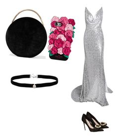 """""""Untitled #507"""" by vasilarralde ❤ liked on Polyvore featuring Miu Miu, Eddie Borgo, Kate Spade and Amanda Rose Collection"""