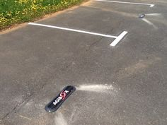 Balisage pour le parking Agibox à Biard.