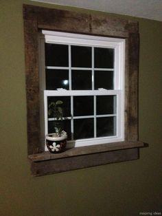 105+ Modern Rustic Window Trim Ideas