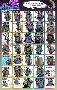 35 Expressions meme-Icy by jurokubu