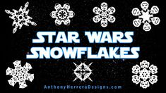 A video on how to make your very own Star Wars snowflakes! GREAT fun for parents and kids alike!