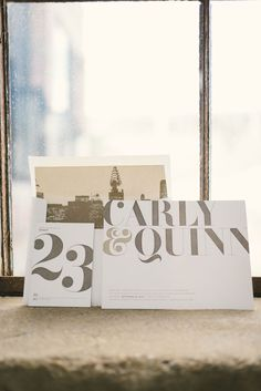 Bella Figura's Carly letterpress wedding invitation was featured in Kate Ignatowski's Knockdown Center inspiration shoot, featured recently on Green Wedding Shoes