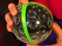 Panono panoramic ball camera takes selfies to a new level