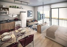 Gorgeous 77 Magnificent Small Studio Apartment Decor Ideas https://roomadness.com/2018/01/14/77-magnificent-small-studio-apartment-decor-ideas/