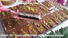 Sliced ​​Cake for 30 or 40 people, Dessert recipes Home Recipes, Pasta Recipes, Dessert Recipes, Cooking Recipes, Desserts, Tasty, Yummy Food, Delicious Recipes, Iftar