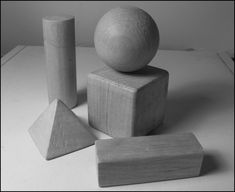 "still life of geometric shapes for drawing reference"" ~ sld ..."