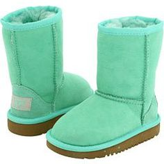 mint green ugg boots... i can't find something these wouldn't go with