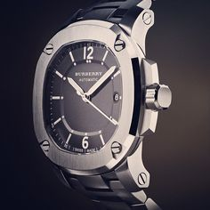 The Britain - The Automatic BBY1203, the new watch from Burberry