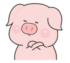 LINE Creators' Stickers - rourou pig(english) Example with GIF Animation Cute Animal Quotes, Cute Animals, Pig Wallpaper, Cute Piglets, Funny Emoji, Line Sticker, Dog Friends, Cute Stickers, Pigs