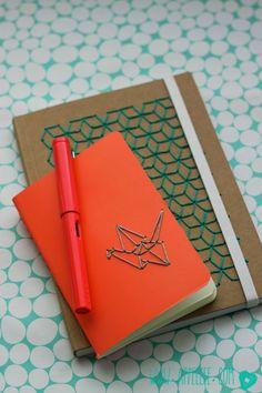 Borduren op boekjes - Notebook embroidery