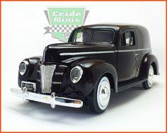 Fabricante Motormax: Miniatura na escala 1/24, partes móveis e pneus de borracha sintética.