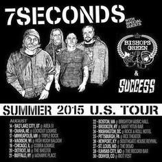 Tour Posters, Movie Posters, High Noon, Music Mix, Special Guest, Minneapolis, Punk Rock, 7 Seconds, Tours