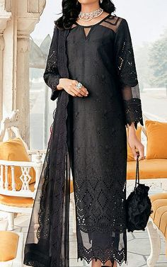 Pakistani Dresses Online Shopping, Suits Online Shopping, Fashion Pants, Fashion Dresses, Pakistani Lawn Suits, Add Sleeves, Lawn Fabric, Pakistani Designers, Clothes For Sale