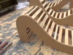 como se hace sofa tantrico hecho de palets reciclados, renatodecoracion.com - YouTube