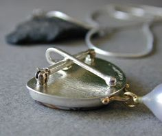 betsy bensen jewelry--Brooch with pendant conversion.  Her jewelry is beautifully pristine and well-made.