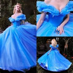 Luxury+Cinderella+Girls'+Quinceanera+Dress+Princess+A+Line+Prom+Party+Ball+Gown+#Handmade+#Sexy+#Formal