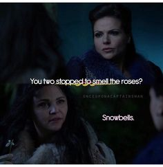 """Regina is like """"I'm so done with you two and your lovey-doveyness."""" I know how it feels to be the third wheel, Regina ;)"""