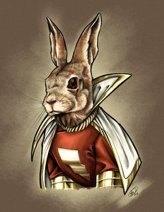 Hoppy the Marvel Bunny by *AdamWithers on deviantART
