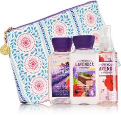 French Lavender & Honey Pretty & Provence Gift Set - Signature Collection - Bath & Body Works