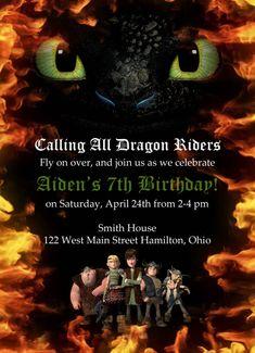 How to train your dragon birthday invitations toothless 27 ideas Dragon Birthday Parties, Dragon Party, Birthday Party Themes, Birthday Invitations, 2nd Birthday, Birthday Cakes, Vikings, Toothless Party, Viking Birthday