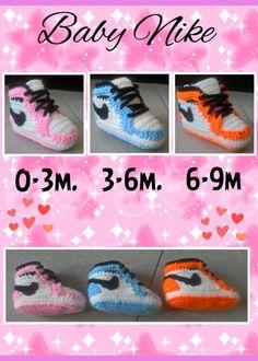 Baby Nike (hoge) van 0-9 maanden