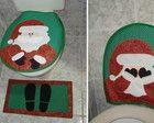 Conjunto de Banheiro de Papai Noel