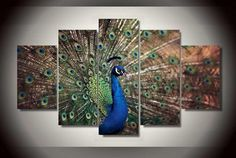 """""""THE BLUE PEACOCK"""""""