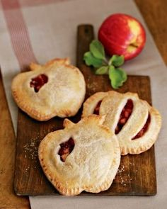 Apple pies - the recipe (from Williams-Sonoma