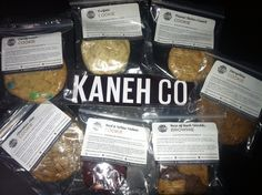 Kaneh Co. Cookies and brownies are delicious,30mg/thc and only a $5 donation!! is also one of the options as a free gift! #30mgthc #thc #medibles #cvg #420 #dankdeals #kanehco #cookies #brownies #funfetti #redvelvet #lemoncookie