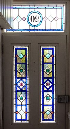 front door stained glass pannels - Google Search
