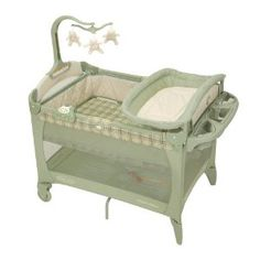 Graco Pack 'N Play Playard with Bassinet and Changer, Bancroft 2008 (Baby Product)  http://www.amazon.com/dp/B000WJNCUE/?tag=goandtalk-20  B000WJNCUE