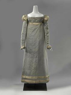 Dress, ca. 1815; Rijksmuseum BK-NM-5542