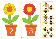 Teacher's Pet - Making 10 Bees - Premium Printable Classroom Activities and… Bee Activities, Preschool Games, Christmas Activities, Classroom Activities, Minibeasts Eyfs, Sudoku, Planting For Kids, Teacher's Pet, Bee Crafts