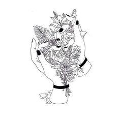 #руки#и#цветы